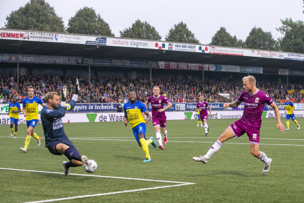 Netherlands: Sc Cambuur Vs Go Ahead Eagles