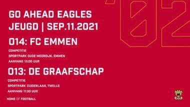 Wedstrijdprogramma Voetbalopleiding 11 09 2021 (o14+o13)