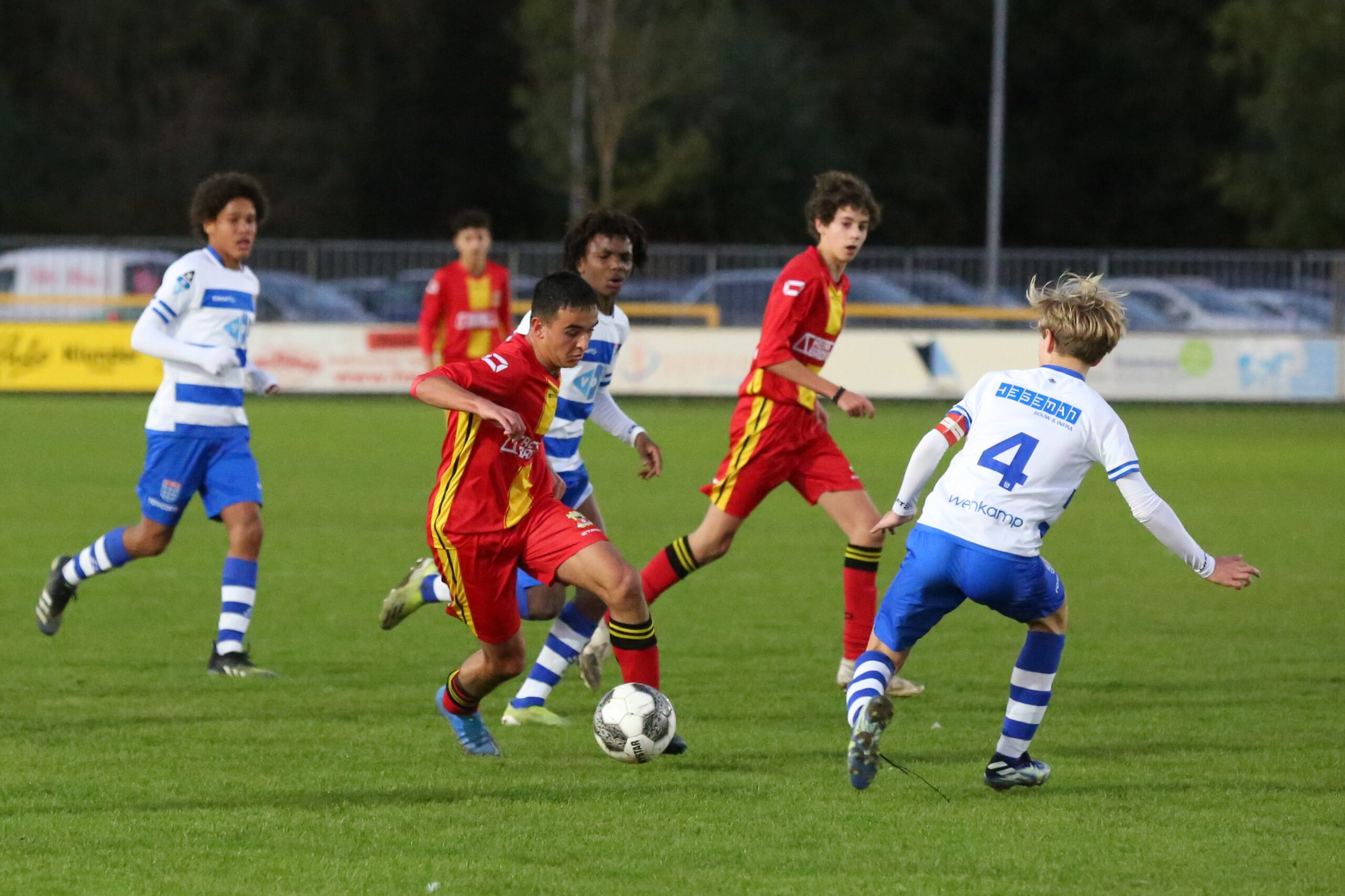 Go Ahead Eagles O15 Pec Zwolle O15 (5) Uitsnede